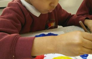 Painting Primary Colours in RC